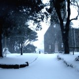 Winter at St Peter's church