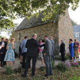 Waiting for the bride, St Apolines Chapel Guernsey