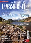 My image on the cover of Lake District and Lancashire Life