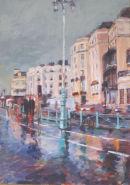 Brighton, Rain At Dusk