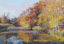 Autumn Lake near Penshurst