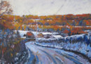 Vauxhall Lane In The Snow