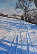 Snowy Field Near Sevenoaks