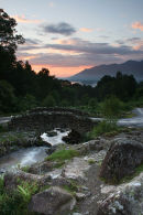Ashness Bridge Sunset