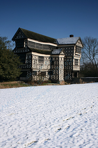 A Snowy Little Moreton Hall