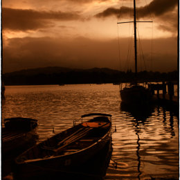 Lake Windermere Evening 1