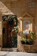 Shrine and door in Malta