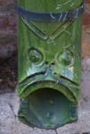 Decorative drainpipes in Languedoc-Roussillon