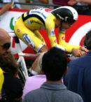 David Millar at the Tour de France Prologue 2007