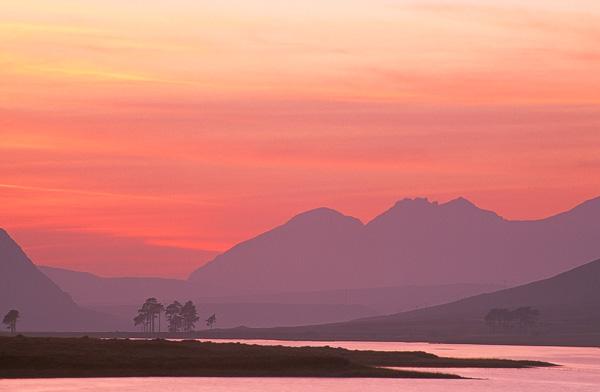 Loch Droma & An Teallach