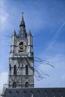 Ghent tower.