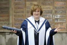 Susan Boyle gets an honorary degree