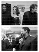 denzel washington, anne hathaway and barry manilow bottom Jk and Denzel Washington