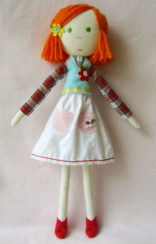 Matilde - hand made and one of a kind dolls