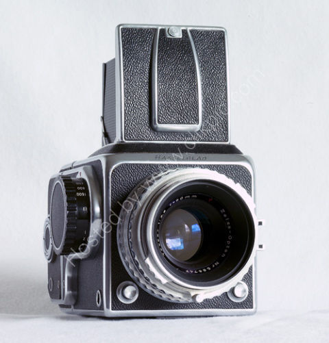 The Historic Hasselblad 1600F.