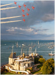 The Red Arrows, Cowes Week 2011