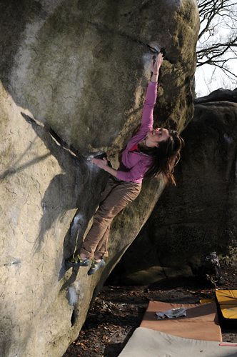 Ellie Howard Climbing Coaching