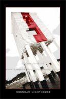 Burnham lighthouse, poster style