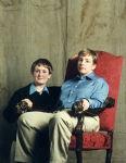 William & Harry (self-portrait)