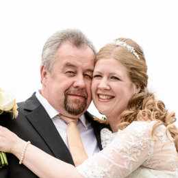 Chinnor Risborough Lambert Arms Bucks Wedding Photography Father Bride