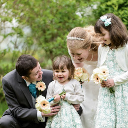 Chinnor Risborough Lambert Arms Bucks Wedding Photography Flower Girls