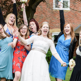 Chinnor Risborough Lambert Arms Bucks Wedding Photography Hen Party