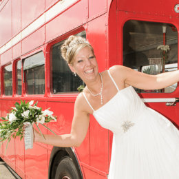 Epping Forest Chingford Wedding 3 London Bus