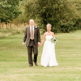 Epping Forest Chingford Wedding 7 Distant Walking