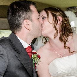 Notley Tythe Barn Long Crendon 03 Bride Groom Kiss