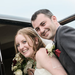 Notley Tythe Barn Long Crendon 07 Bride Groom Leave