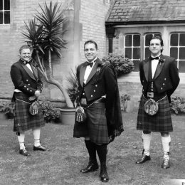 Wandsworth London Wedding Photography 8 Groom Bestmen Scottish Kilts