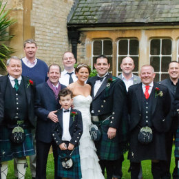 Wandsworth London Wedding Photography 9 Group Scottish