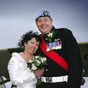 Army wedding